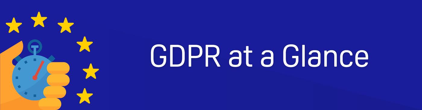 GDPR at a Glance